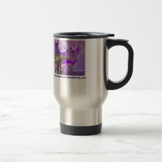 The Phoenix of Hotel Freds Cover TM Stainless Steel Travel Mug