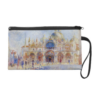 The Piazza San Marco, Venice, 1881 (oil on canvas) Wristlet
