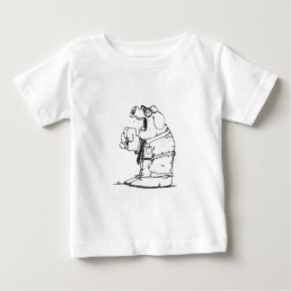 The Pig is angry Baby T-Shirt