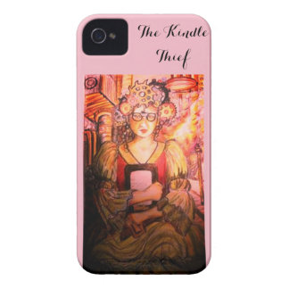 The Pink Kindle Thief iPhone 4 Case-Mate Case