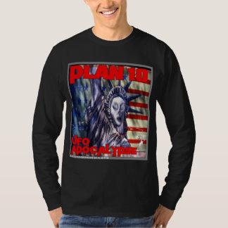 The Plan 10 UFO Apocalypse Long Sleeve T-Shirt
