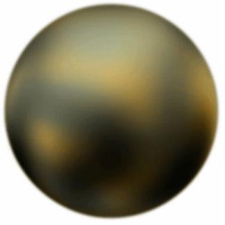 The Planet Pluto Photo Sculpture