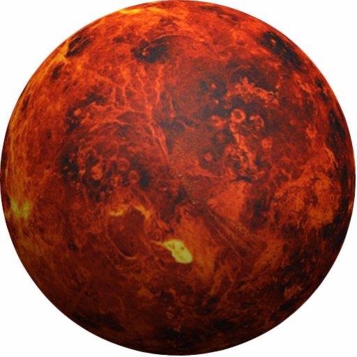 The Planet Venus - 3D Effect Photo Cut Outs