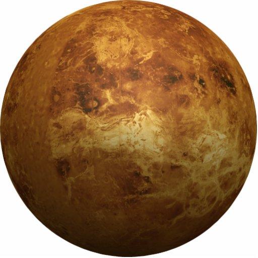 The Planet Venus - 3D Effect Acrylic Cut Out
