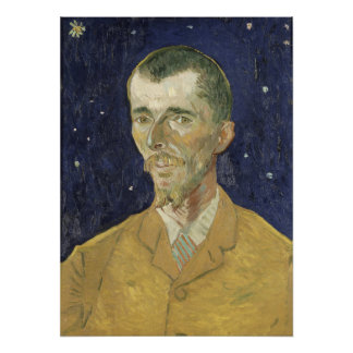 The Poet Eugene Boch by Vincent Van Gogh Photo