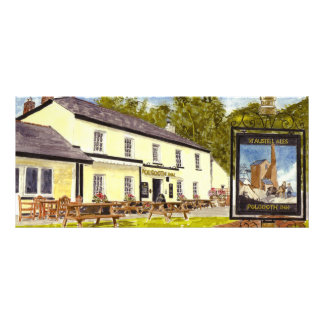 'The Polgooth Inn' Rack Card
