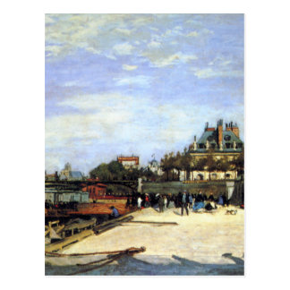 The Pont des Arts and the Institut de France Postcard