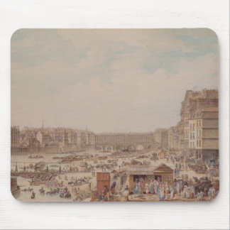 The Port au Ble and the Pont Notre-Dame, 1782 Mouse Pad