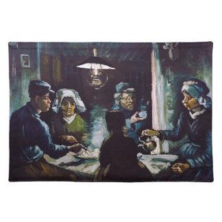 The Potato Eaters by Vincent Van Gogh Placemat