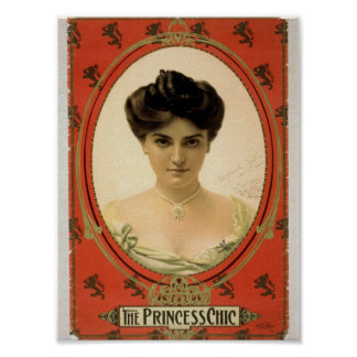 The Princess Chic Retro Theater Posters