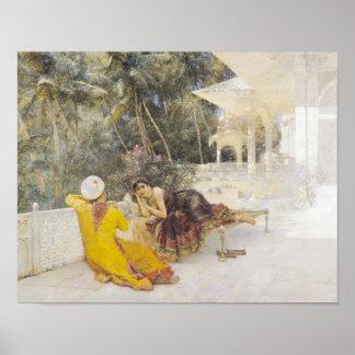 The Princess of Bengal, c.1889 Poster