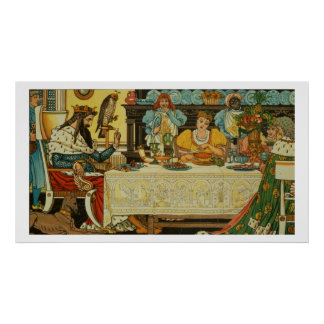 The Princess Shares her Dinner with the Frog, from Poster
