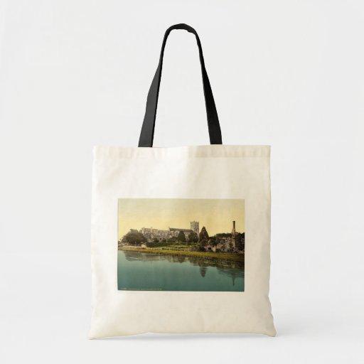 The Priory Church, Christchurch, England classic P Tote Bag