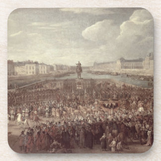 The Procession of Louis XIV (1638-1715) across the Coaster
