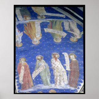The Prophets Job, Isaiah, Jeremiah, Solomon Poster