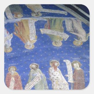 The Prophets Job, Isaiah, Jeremiah, Solomon Square Sticker