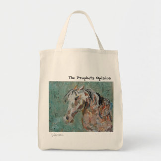 The Prophet's Opinion Grocery Tote Bag