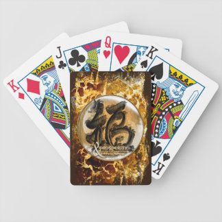 THE PROSPERITY CONNEXION : Art of Chinese Fengshui Bicycle Playing Cards
