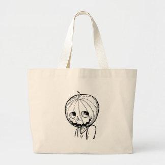The Pumpkin Head Canvas Bags