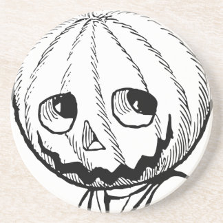 The Pumpkin Head Drink Coasters