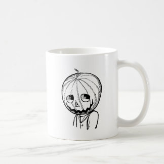 The Pumpkin Head Coffee Mug