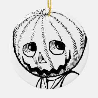 The Pumpkin Head Christmas Ornaments