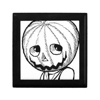 The Pumpkin Head Keepsake Box