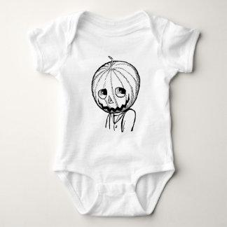 The Pumpkin Head Infant Creeper
