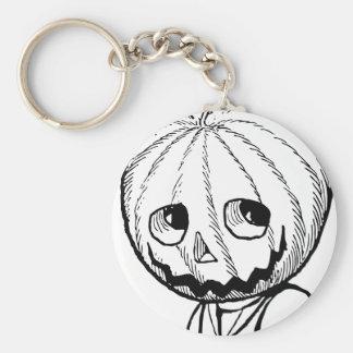 The Pumpkin Head Key Chain