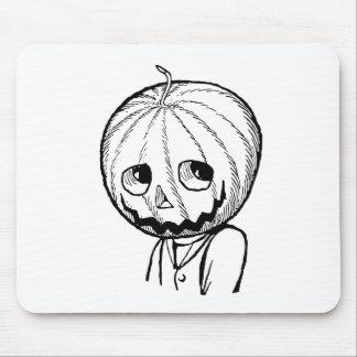 The Pumpkin Head Mouse Pad