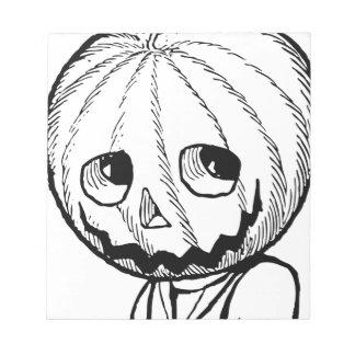 The Pumpkin Head Note Pads