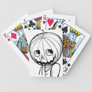 The Pumpkin Head Card Decks