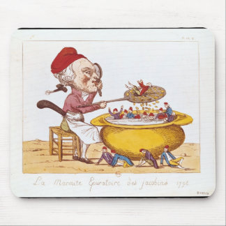 The Purifying Pot of the Jacobins, 1793 Mouse Pad