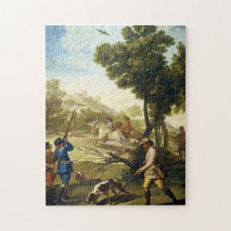 The Quail Hunting Francisco José Goya masterpiece Jigsaw Puzzle