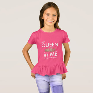 The Queen IN Me - babydoll t-shirt for girls