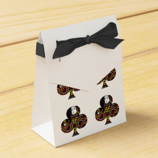 The Queen of Clubs Wedding Favour Box