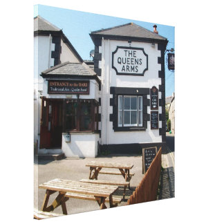 THE QUEENS ARMS CONSTANTINE CANVAS PRINT