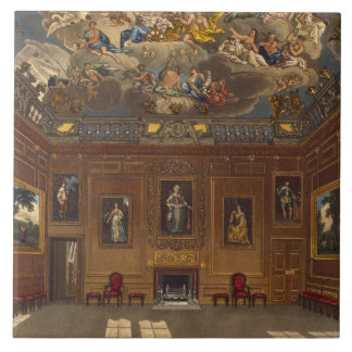 The Queen's Audience Chamber, Windsor Castle, from Tile