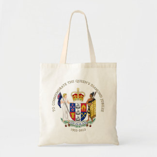The Queen's Diamond Jubilee - New Zealand Tote Bag