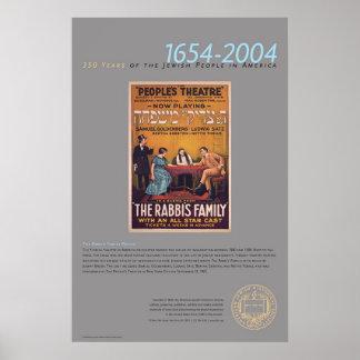 The Rabbi's Family Theatre Poster