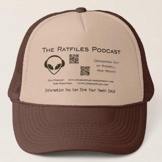 The Ratfiles Official Merchandise Logo Hat