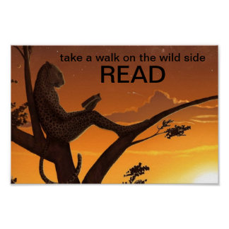 The Reading Cheetah Literacy Poster