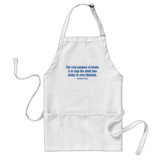 The Real Purpose of Books Aprons