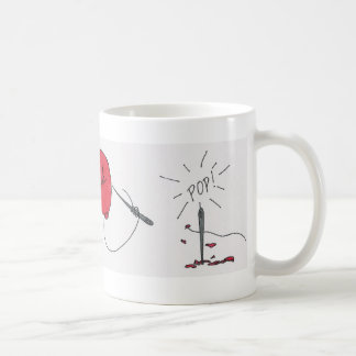 The Red Balloon Basic White Mug