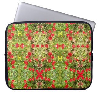 the red green nature laptop sleeve