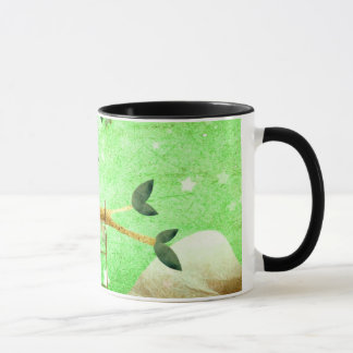 The red panda came prepared ... mug