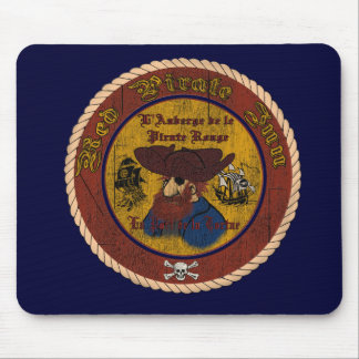 The Red Pirate Inn Mouse Pad