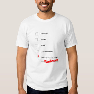 The Redneck Race T Shirt