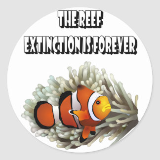 The Reef Classic Round Sticker