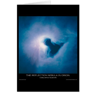 The Reflection Nebula in Orion Card